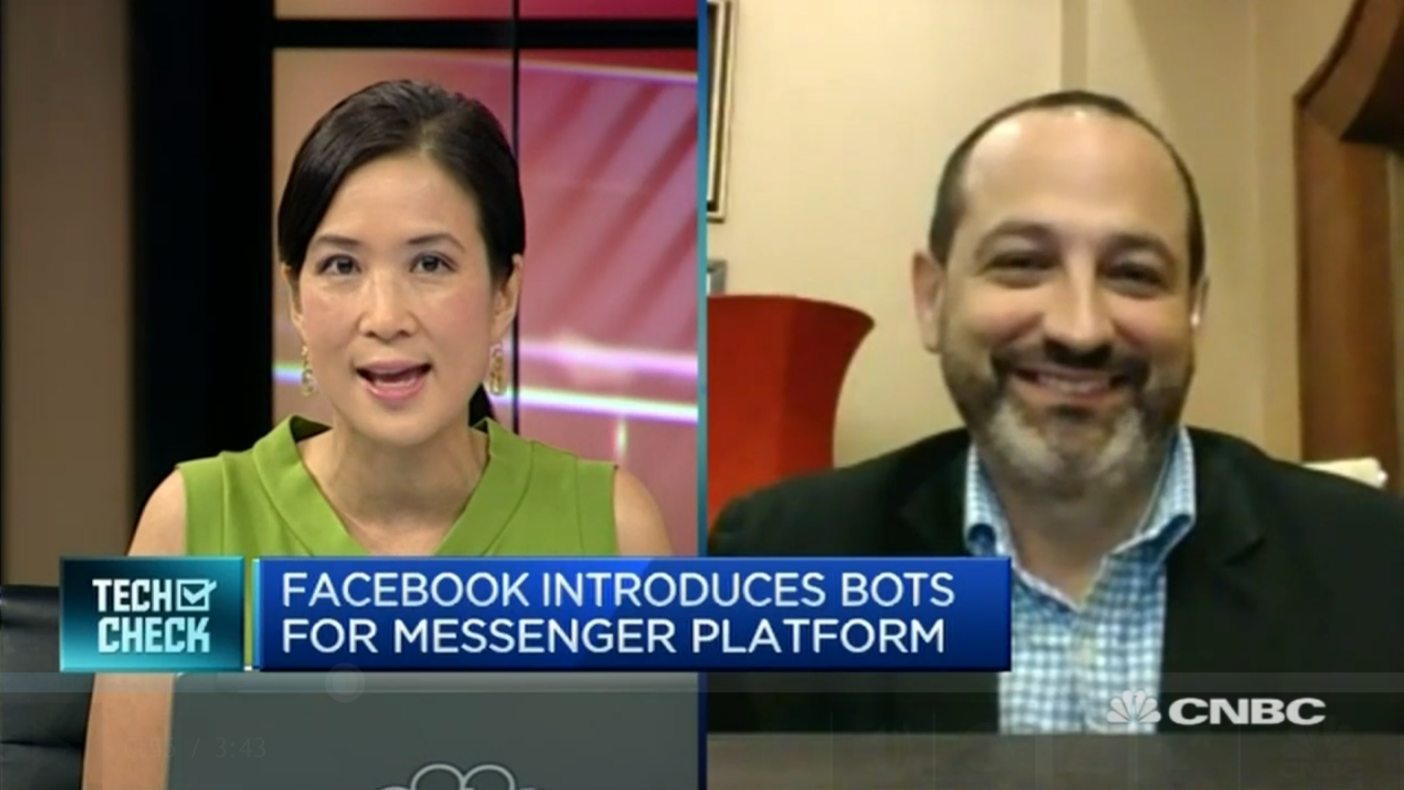 CNBC Facebook Chat Bots