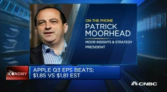 CNBC on Apple Earnings 2015