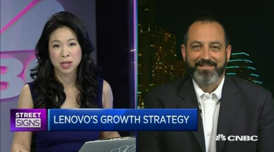 CNBC on Lenovo 2015