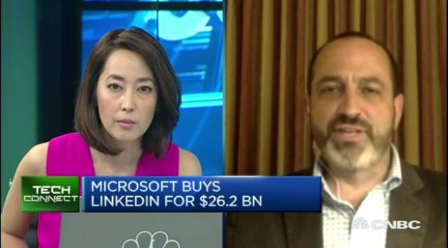 CNBC - Microsoft / LinkedIn Deal