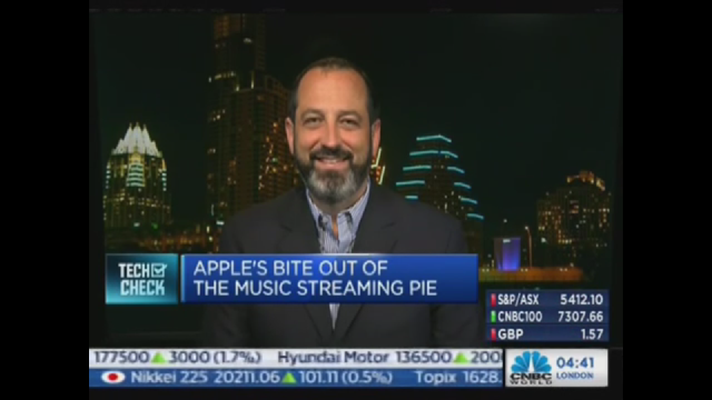 CNBC Asia on Apple Music 2015