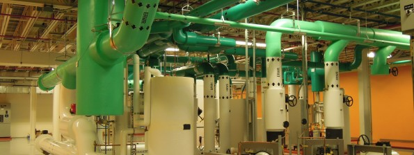 NREL water pipes and heat exchangers
